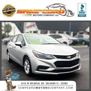 2017 Chevrolet Cruze for sale at SAMPEDRO MOTORS COMPANY INC in Orlando FL