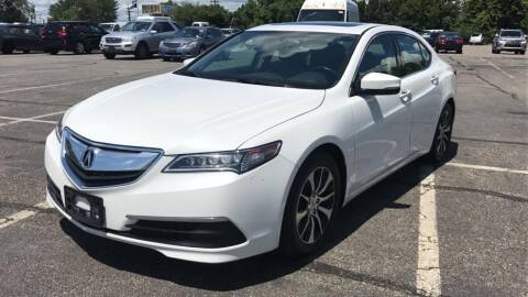 2015 Acura TLX for sale at MFT Auction in Lodi NJ