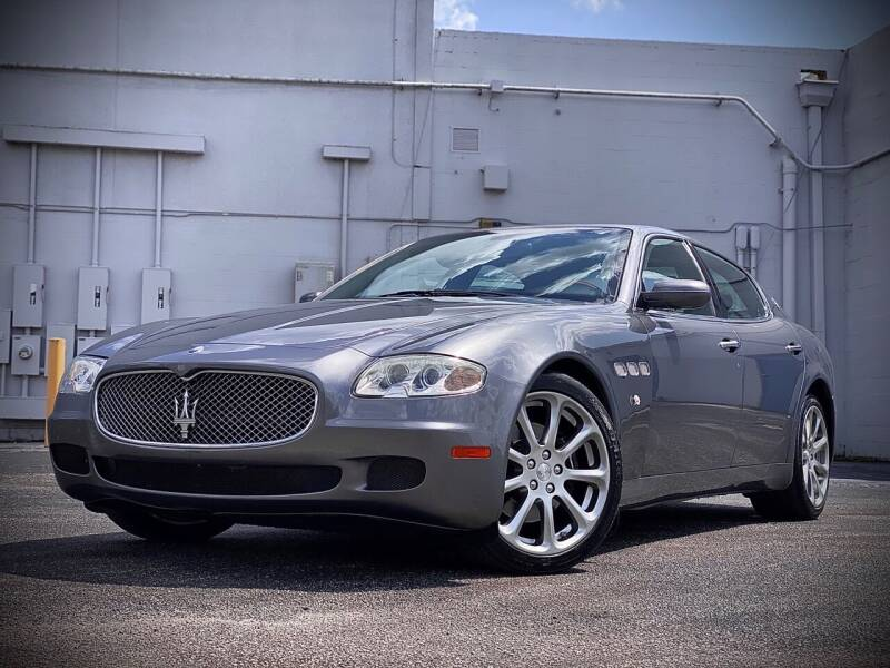 2008 Maserati Quattroporte for sale at FALCON AUTO BROKERS LLC in Orlando FL