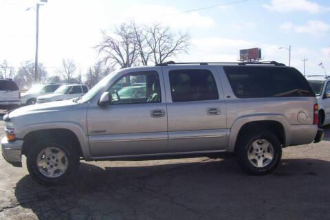 2004 Chevrolet Suburban for sale at PAUL'S PAINT & BODY SHOP in Des Moines IA