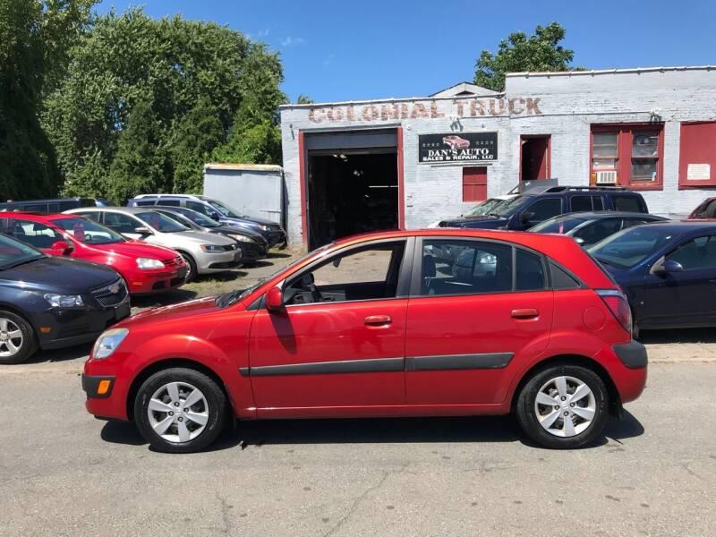 2009 Kia Rio5 for sale at Dan's Auto Sales and Repair LLC in East Hartford CT