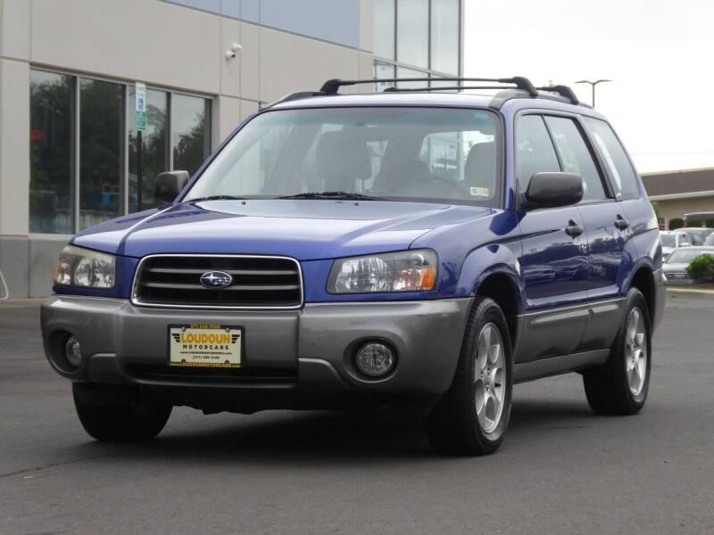 2004 Subaru Forester for sale at Loudoun Motor Cars in Chantilly VA
