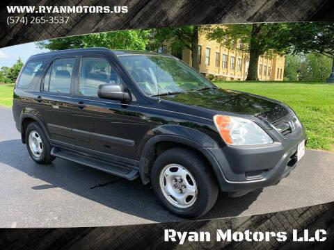2002 Honda CR-V for sale at Ryan Motors LLC in Warsaw IN