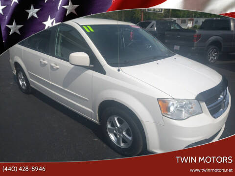 2011 Dodge Grand Caravan for sale at TWIN MOTORS in Madison OH