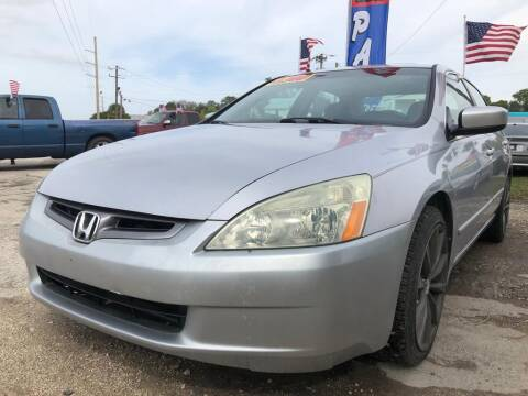 2004 Honda Accord for sale at EXECUTIVE CAR SALES LLC in North Fort Myers FL