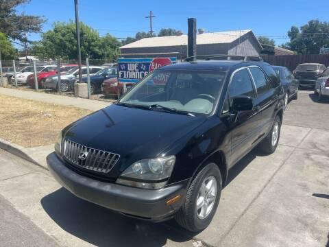 1999 Lexus RX 300 for sale at River City Auto Sales Inc in West Sacramento CA