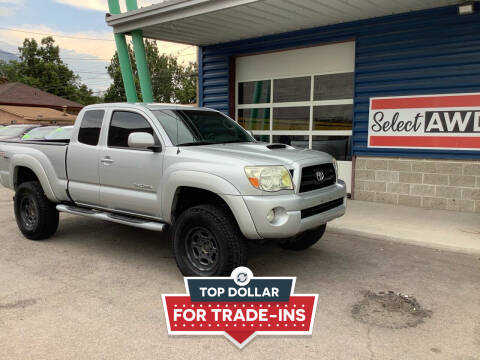 2007 Toyota Tacoma for sale at Select AWD in Provo UT