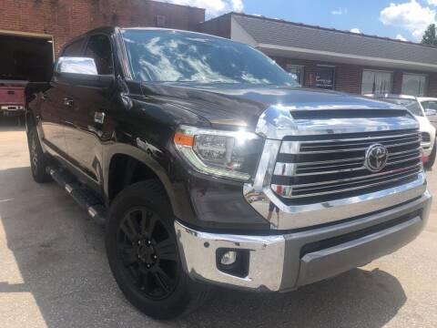 2020 Toyota Tundra for sale at Creekside Automotive in Lexington NC