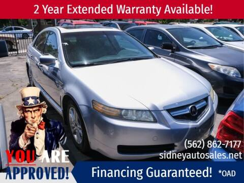 2005 Acura TL for sale at Sidney Auto Sales in Downey CA