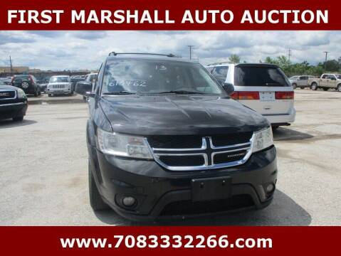 2013 Dodge Journey for sale at First Marshall Auto Auction in Harvey IL