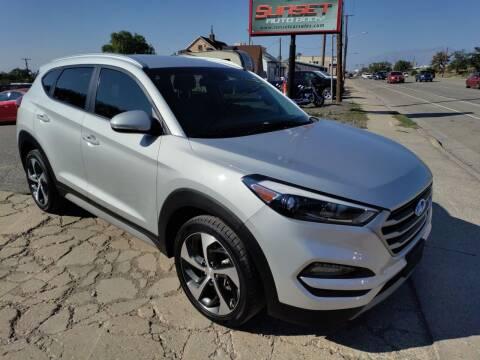 2018 Hyundai Tucson for sale at Sunset Auto Body in Sunset UT