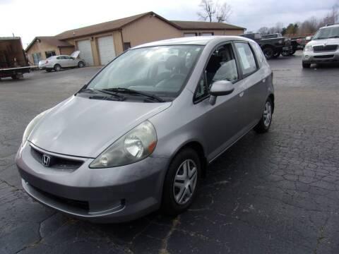 2008 Honda Fit for sale at DAVE KNAPP USED CARS in Lapeer MI