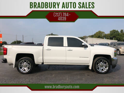 2016 Chevrolet Silverado 1500 for sale at BRADBURY AUTO SALES in Gibson City IL