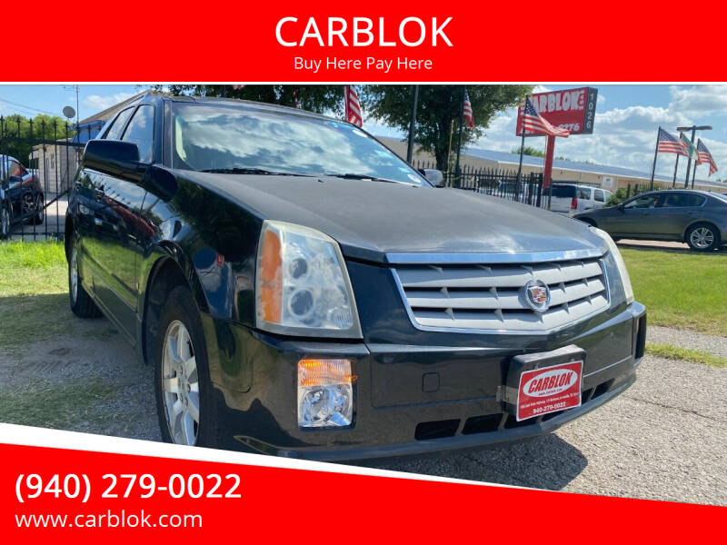 2009 Cadillac SRX for sale at CARBLOK in Lewisville TX