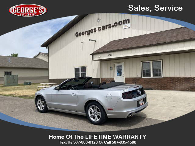 2013 Ford Mustang for sale at GEORGE'S CARS.COM INC in Waseca MN