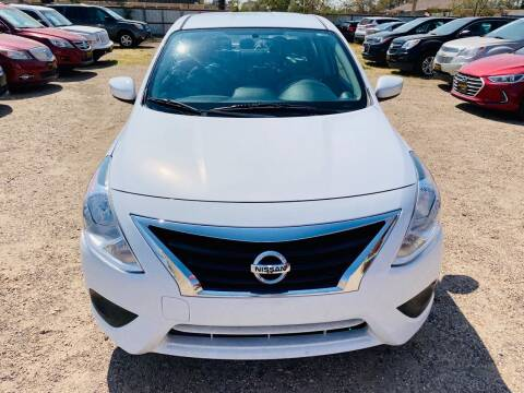 2016 Nissan Versa for sale at Good Auto Company LLC in Lubbock TX