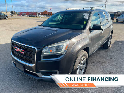 2014 GMC Acadia for sale at Strait-A-Way Auto Sales LLC in Gaylord MI