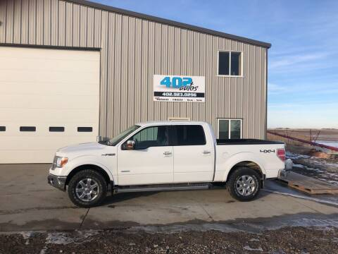 2013 Ford F-150 for sale at 402 Autos in Lindsay NE