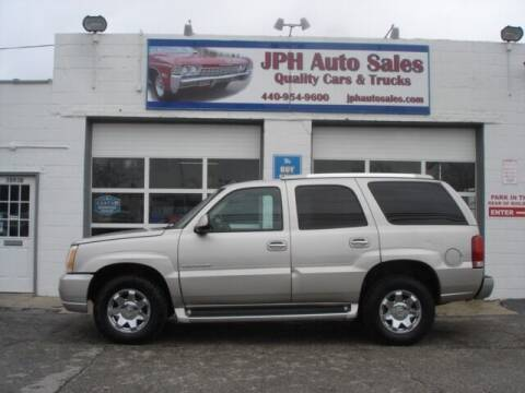2005 Cadillac Escalade for sale at JPH Auto Sales in Eastlake OH