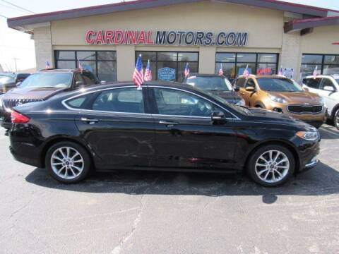 2017 Ford Fusion for sale at Cardinal Motors in Fairfield OH