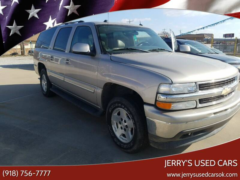 2005 Chevrolet Suburban for sale at Jerry's Used Cars in Okmulgee OK