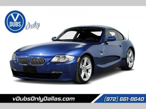 2006 BMW Z4 for sale at VDUBS ONLY in Dallas TX
