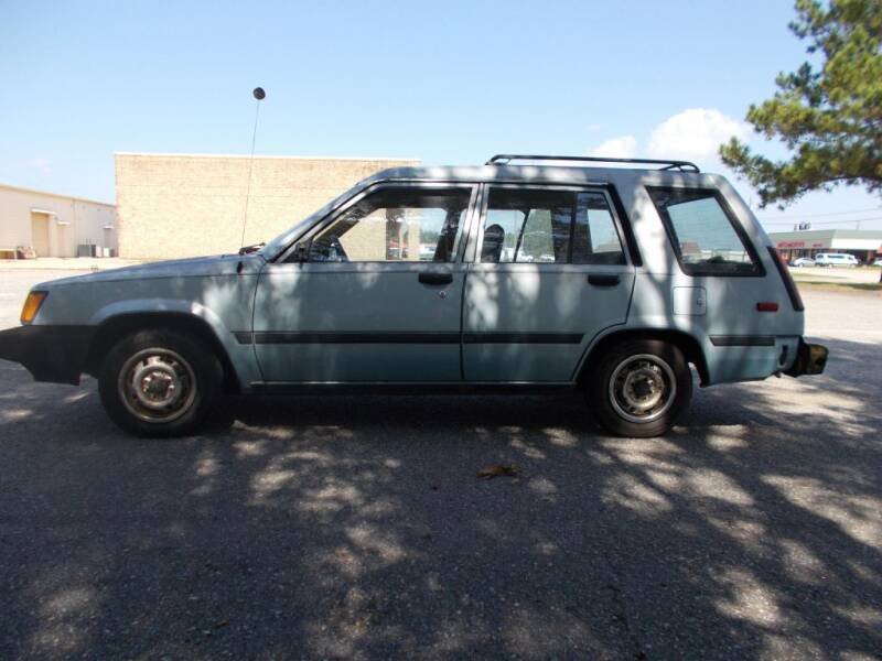 1984 Toyota Tercel for sale at A & P Automotive in Montgomery AL