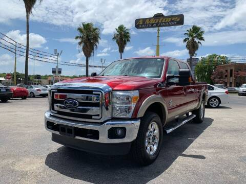 2014 Ford F-250 Super Duty for sale at A MOTORS SALES AND FINANCE in San Antonio TX