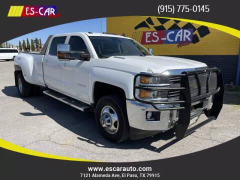 2015 Chevrolet Silverado 3500HD for sale at Escar Auto in El Paso TX