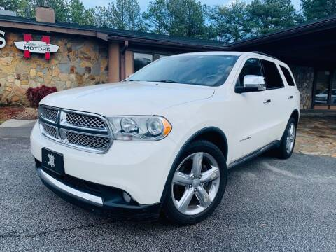 2011 Dodge Durango for sale at Classic Luxury Motors in Buford GA