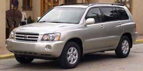 2003 Toyota Highlander for sale at HILAND TOYOTA in Moline IL