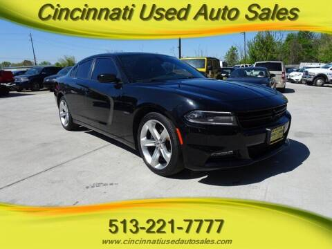 2018 Dodge Charger for sale at Cincinnati Used Auto Sales in Cincinnati OH