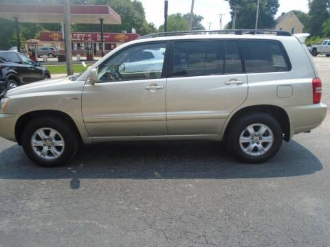 2003 Toyota Highlander for sale at Nelson Auto Sales in Toulon IL