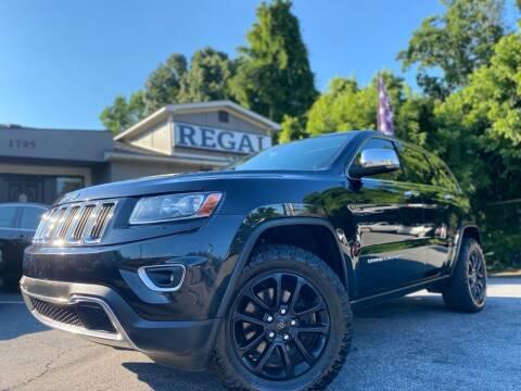 2014 Jeep Grand Cherokee for sale at Regal Auto Sales in Marietta GA