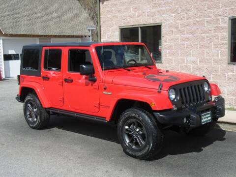 2018 Jeep Wrangler JK Unlimited for sale at Advantage Automobile Investments, Inc in Littleton MA