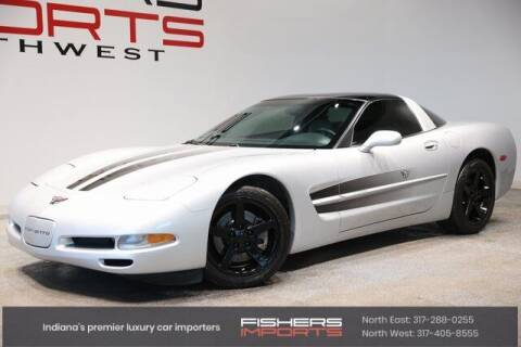 1997 Chevrolet Corvette for sale at Fishers Imports in Fishers IN