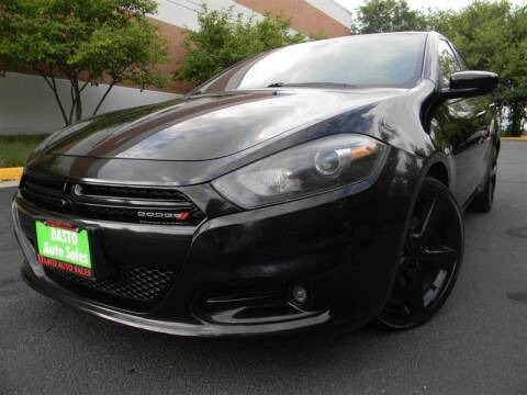 2015 Dodge Dart for sale at Dasto Auto Sales in Manassas VA