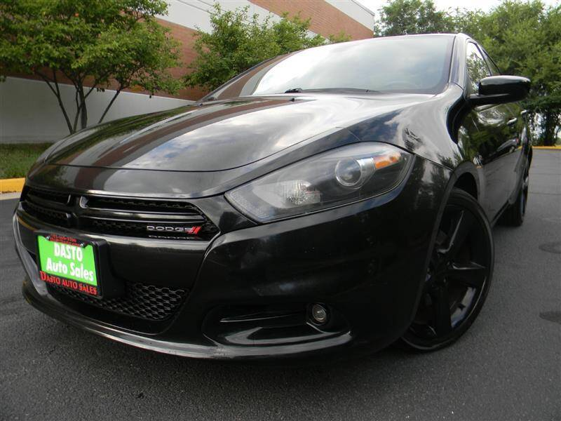 2015 Dodge Dart for sale at Dasto Auto Sales in Manassas VA