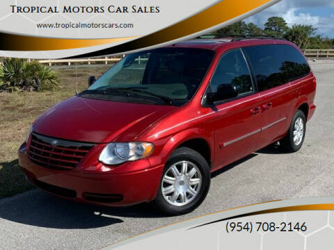 2006 Chrysler Town and Country for sale at Tropical Motors Car Sales in Deerfield Beach FL