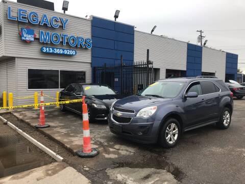 2013 Chevrolet Equinox for sale at Legacy Motors in Detroit MI