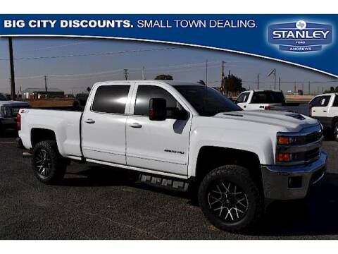 2019 Chevrolet Silverado 2500HD for sale at STANLEY FORD ANDREWS in Andrews TX