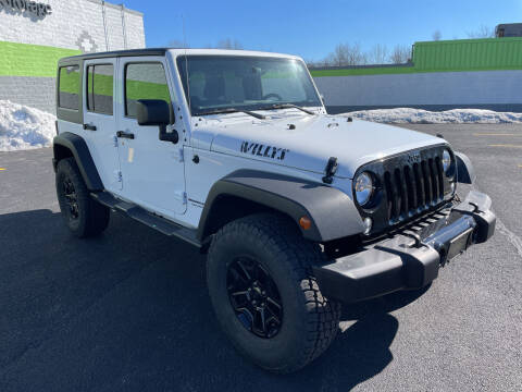 2018 Jeep Wrangler JK Unlimited for sale at South Shore Auto Mall in Whitman MA