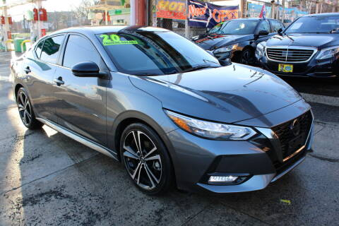 2020 Nissan Sentra for sale at LIBERTY AUTOLAND INC - LIBERTY AUTOLAND II INC in Queens Villiage NY
