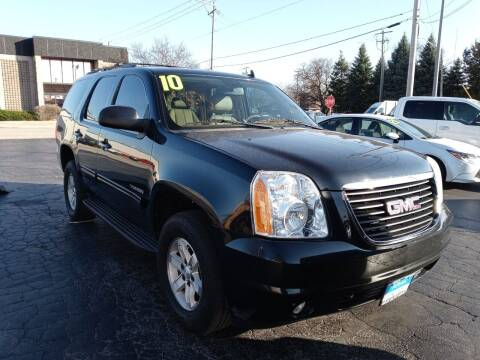 2010 GMC Yukon for sale at Arak Auto Group in Bourbonnais IL