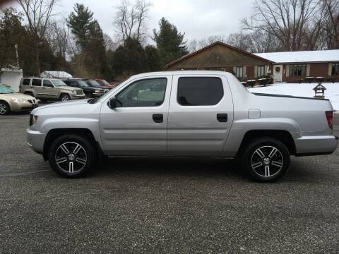 2012 Honda Ridgeline for sale at Lou Rivers Used Cars in Palmer MA