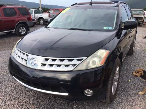 2006 Nissan Murano for sale at Troys Auto Sales in Dornsife PA