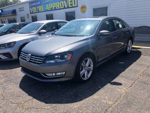 2014 Volkswagen Passat for sale at Greg's Auto Sales in Poplar Bluff MO