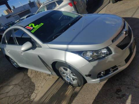 2012 Chevrolet Cruze for sale at Sanaa Auto Sales LLC in Denver CO