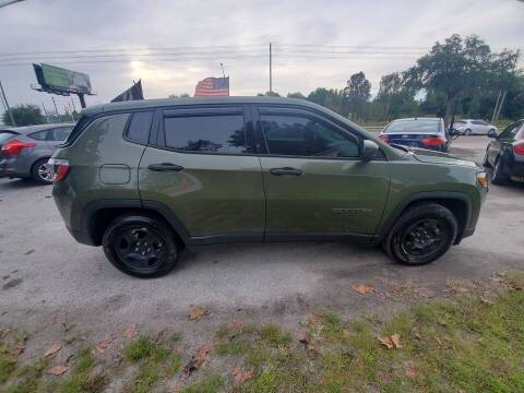 2019 Jeep Compass for sale at Area 41 Auto Sales & Finance in Land O Lakes FL