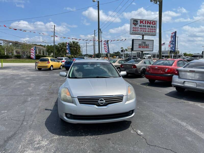 2009 Nissan Altima for sale at King Auto Deals in Longwood FL